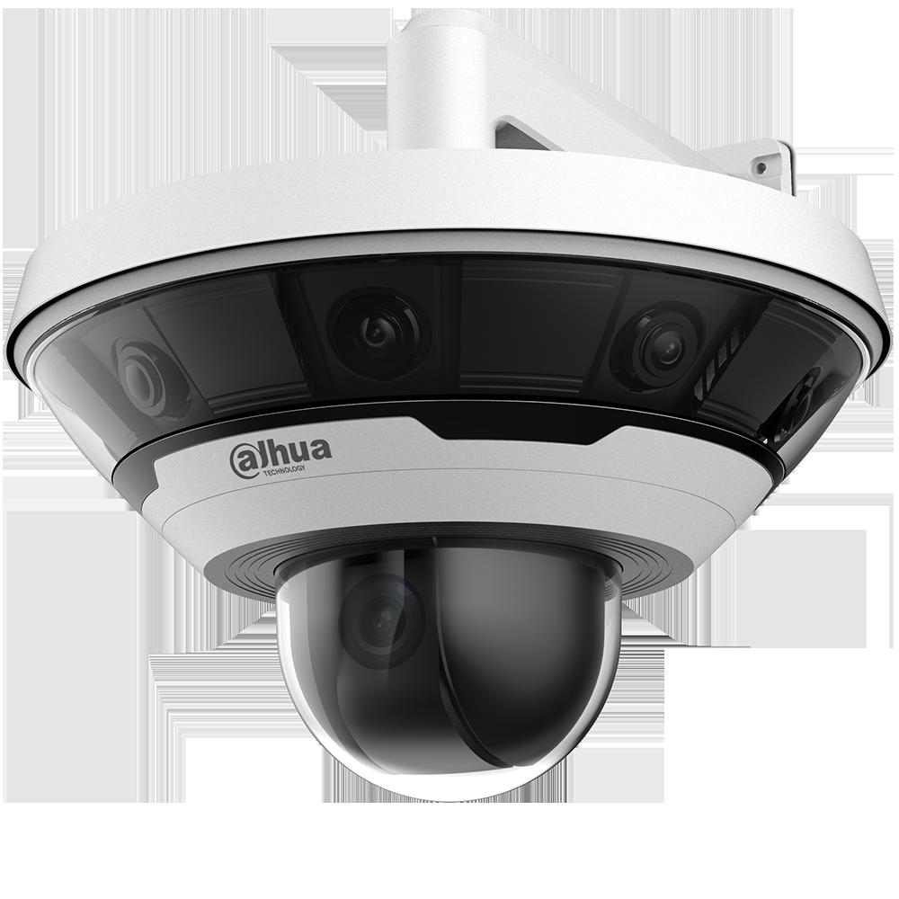 8x2MP 360° Multi-sensor Panoramic + 2MP PTZ