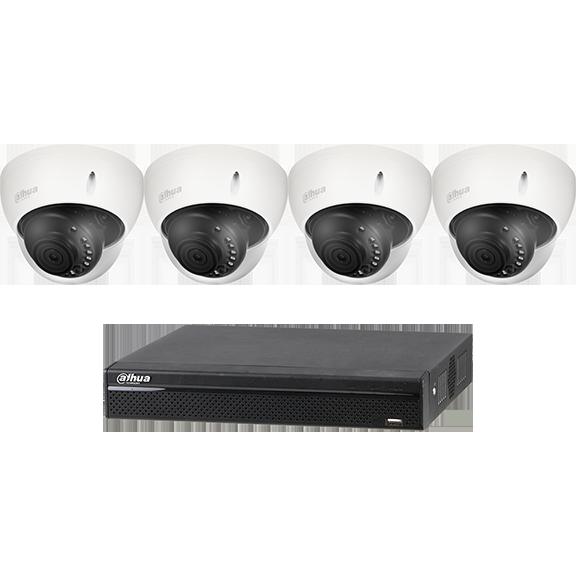 Dahua 4-channel HDCVI Recorder Kit
