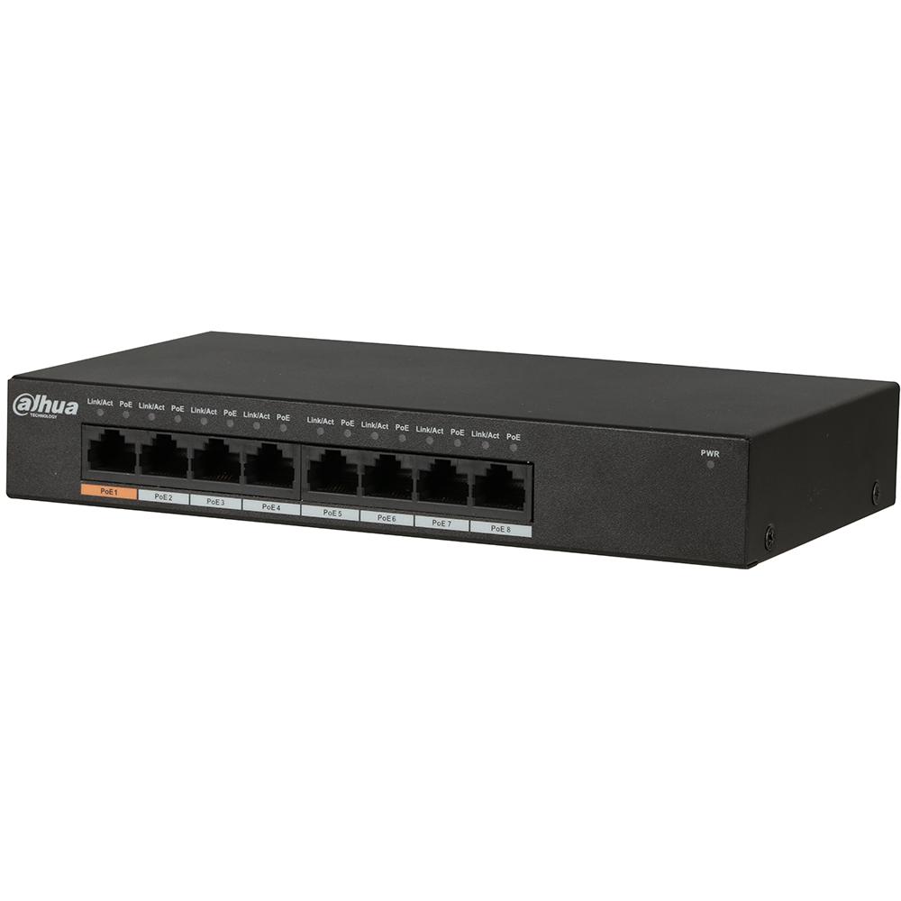8-port Gigabit Ethernet PoE Switch - Dahua Technology USA Inc