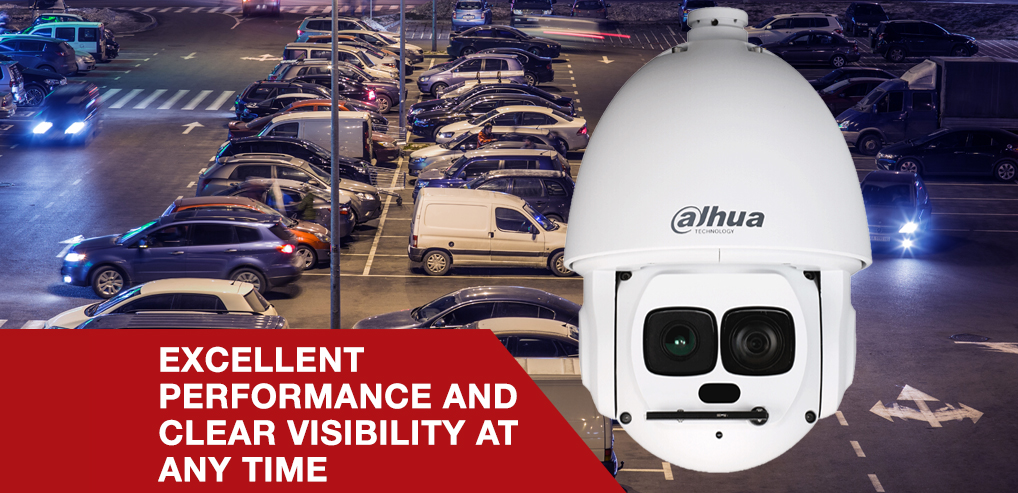 Dahua Releases New 2MP 45x Laser Infrared Pan-Tilt-Zoom Camera