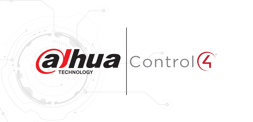 Dahua Technology's Product Integration with Control 4 Announced at ISC West