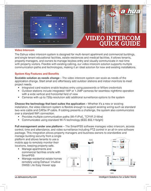Intercom Quick Guide